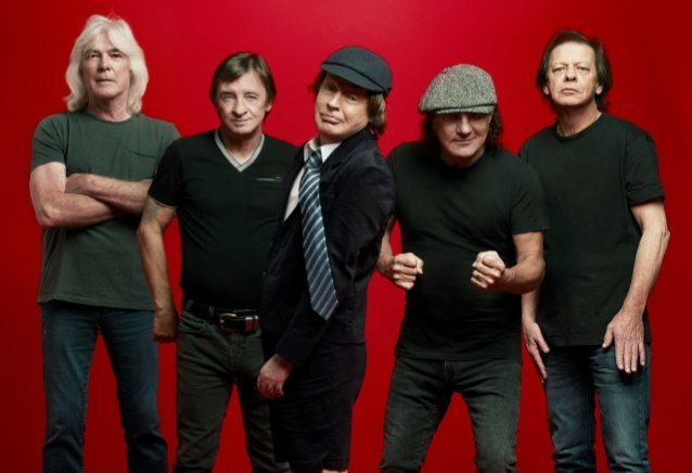 AC/DC's ANGUS YOUNG Says Some Of The Riff Ideas On 'Power Up' Are At Least 20 Years Old