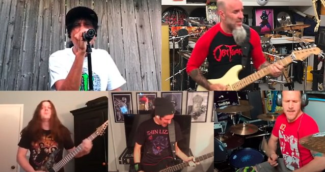 ANTHRAX Celebrates 35th Anniversary Of 'Spreading The Disease' With Quarantine Version Of 'Gung-Ho'
