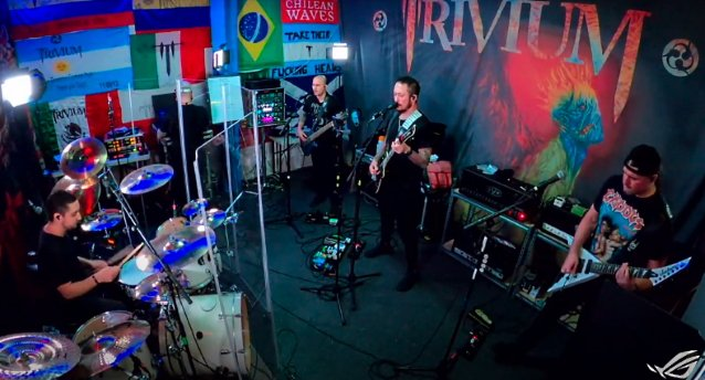 Watch TRIVIUM's Entire 'The Deepest Cuts II' Livestream Concert