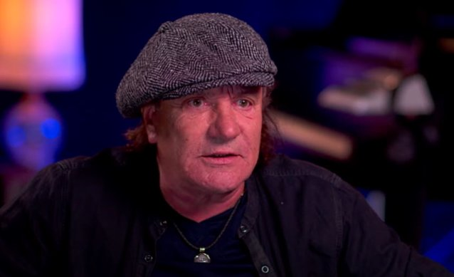 AC/DC's BRIAN JOHNSON Says He Buried His Head In A Bottle Of Whiskey After Being Sidelined With Hearing Issues
