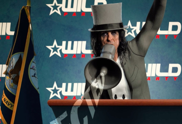 ALICE COOPER Releases 'Fact Video' For 'Elected'