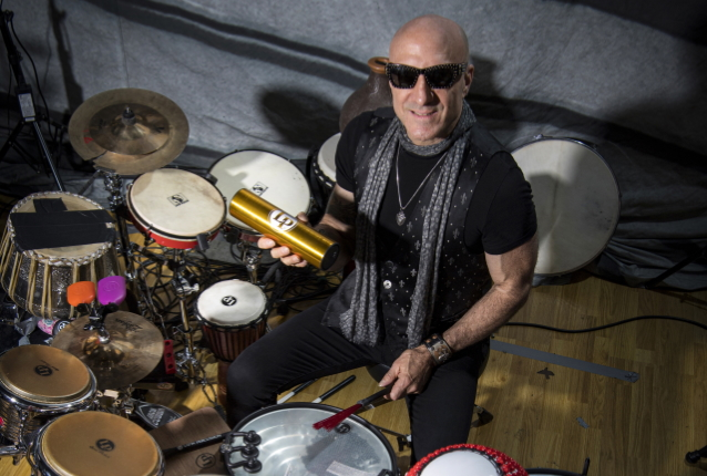 KENNY ARONOFF Joins LATIN PERCUSSION Family