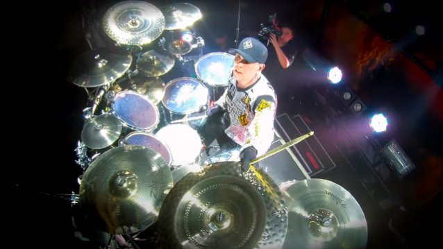 MACHINE HEAD: CHRIS KONTOS Drum-Cam Video Of 'The Rage To Overcome' From Montreal