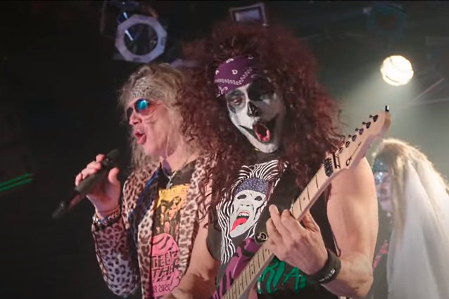 STEEL PANTHER Shares Performance Clip From 'The Halloweenie Ride Livescream'
