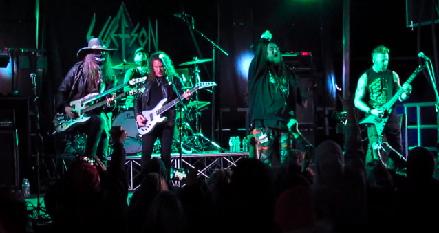 Watch DAVID ELLEFSON Perform MEGADETH Classics With His Solo Band At 'End Of Days' Festival In San Antonio